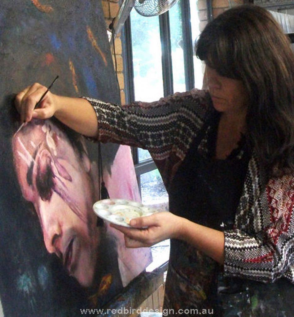 Jenny Cass at Redbird Art Studio